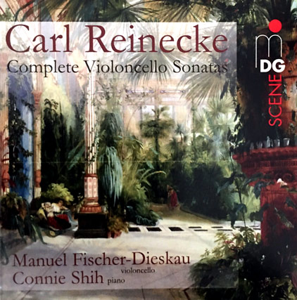 Carl Reinecke: Cellosonate Nr.1, a-Moll, op.42, 1. Allegro moderato