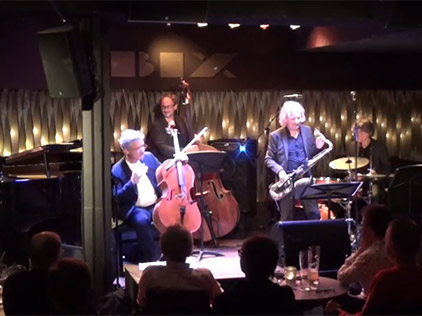 "Jazz-Cello: Manuel Dieskau ""SO LONG"" (mit Peter Lehel Quartet)"