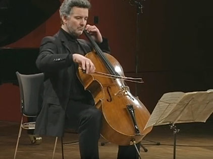 Beethoven Cello Sonata No 5 op.102 2nd Part Manuel Fischer-Dieskau & José Gallardo